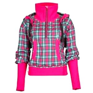 Lululemon Run Reflective Pullover Jacket